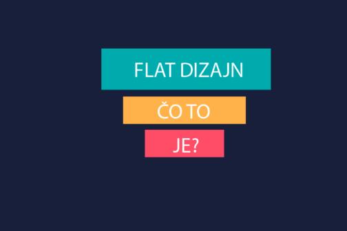 Čo je to Flat dizajn?