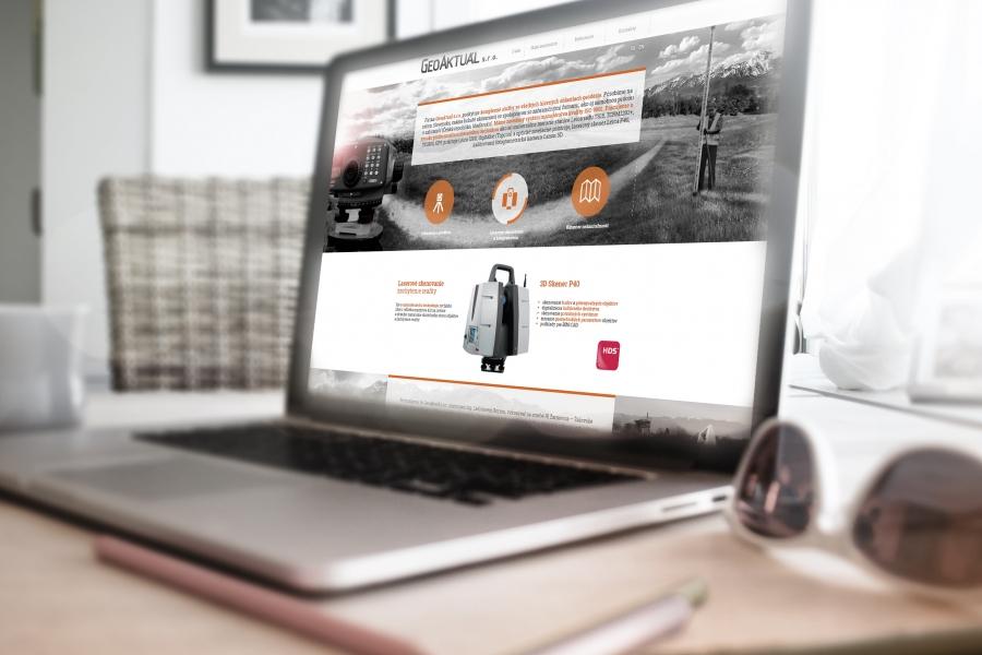 Geoaktual responzivny web desktop