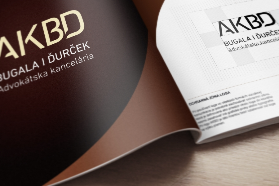 akbd-advokatska kancelaria korporatna identita LOGO MANUAL DESIGN MANUAL