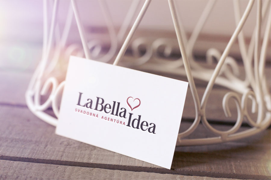 la bella idea logo grafika animagraf