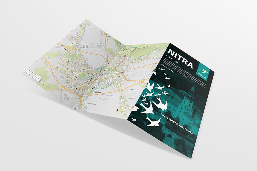 nitrianska organizacia cestovneho ruchu corporate identity - DL-animagraf