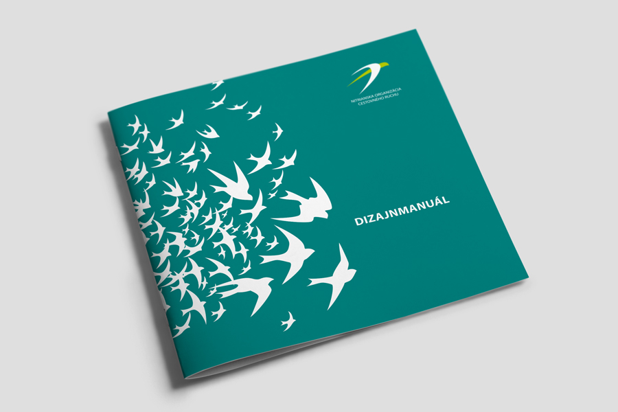 nitrianska organizacia cestovneho ruchu corporate identity - design manual animagraf