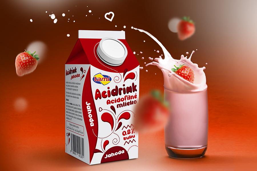 agro-tami-obalovy-dizajn-acidofilne-mlieko-acidrink-jahoda-grafika-animagraf