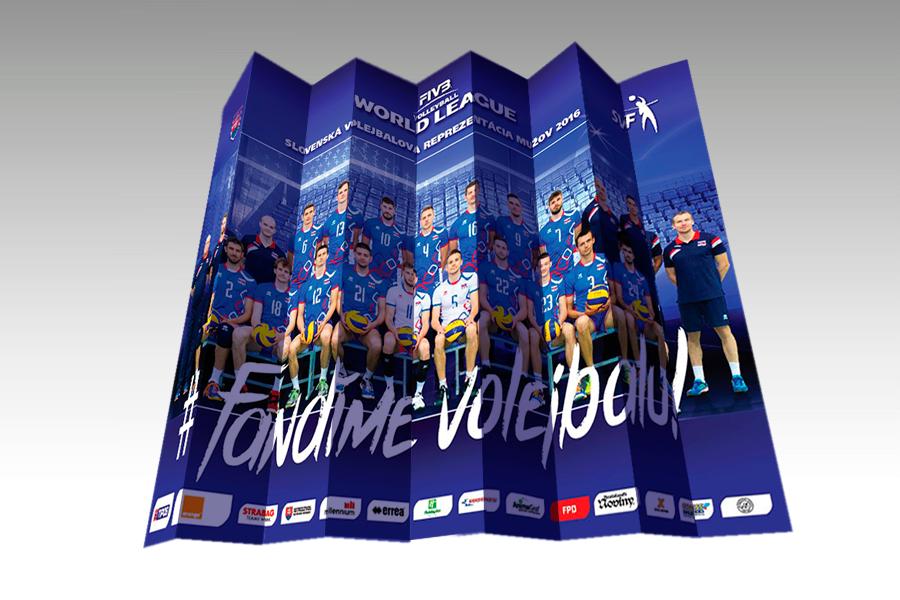 Tlieskac SVF - svetová liga volejbal 2016 by animagraf