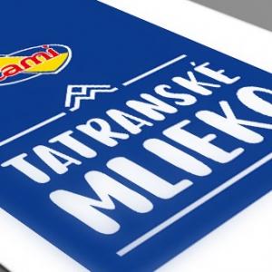 Obal Tatranského mlieka