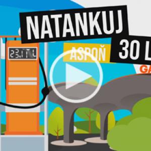 Animované video pre GAS čerpacie stanice